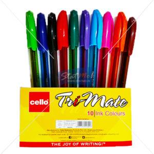 Cello Tri Mate Colour Ball Pen by StatMo.in
