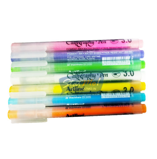 Artline Calligraphy Pastel Colour Pen by StatMo.in
