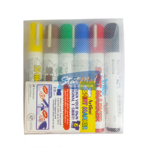 Artline Tshirt Marker Set of 6 by StatMo.in