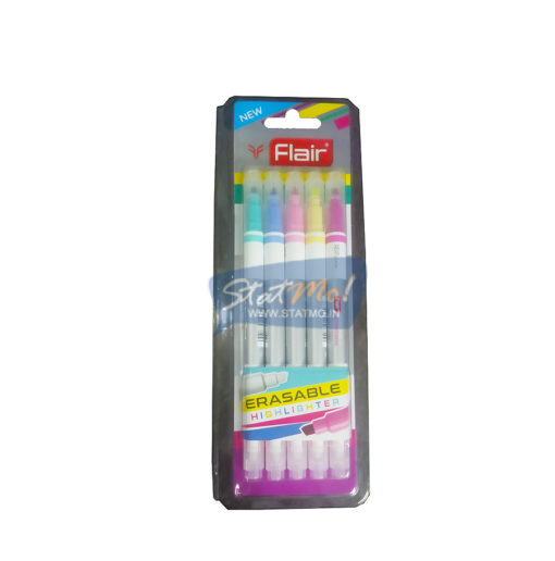 Flair Erasable Highlighter Assorted Colour by StatMo.in