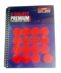 Luxor 6 Subject Premium Executive Notebook by StatMo.in