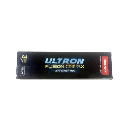 Unomax Ultron Fusion Grip 3x Ballpoint Refill by StatMo.in