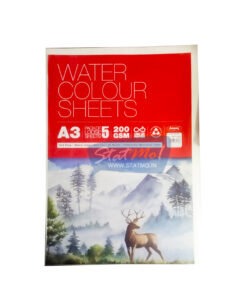 Anupam Water Colour Sheets A3 by StatMo.in