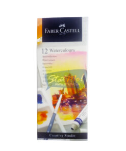 Faber Castell Watercolours 12 Shades 5Ml Tube by StatMo.in