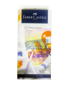 Faber Castell Watercolours 12 Shades 9Ml Tube by StatMo.in
