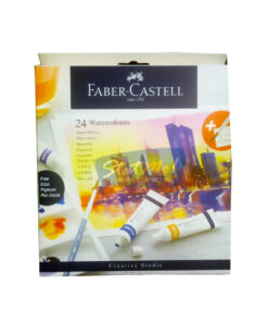 Faber Castell Watercolours 24 Shades 9Ml Tube by StatMo.in